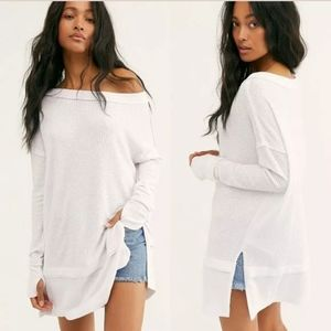 Free People WE THE FREE North Shore Thermal Top